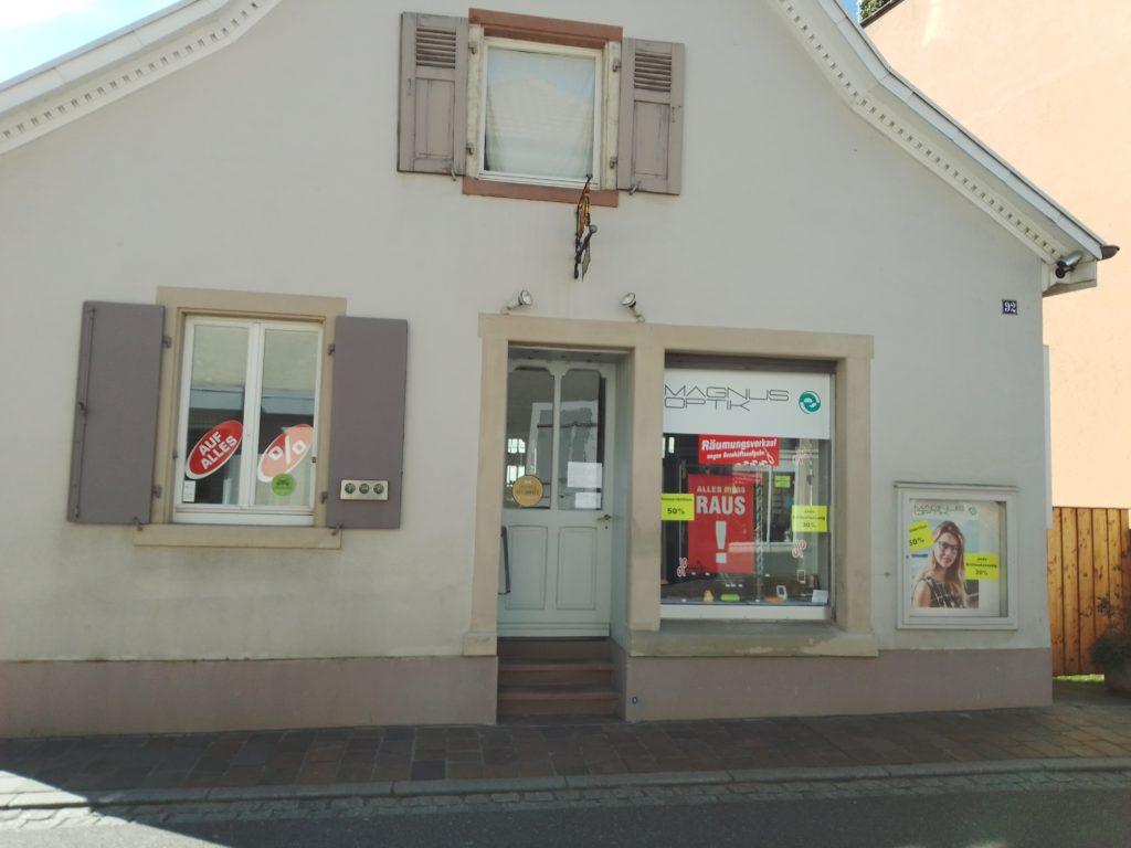 Corona-Hinweise in Müllheim