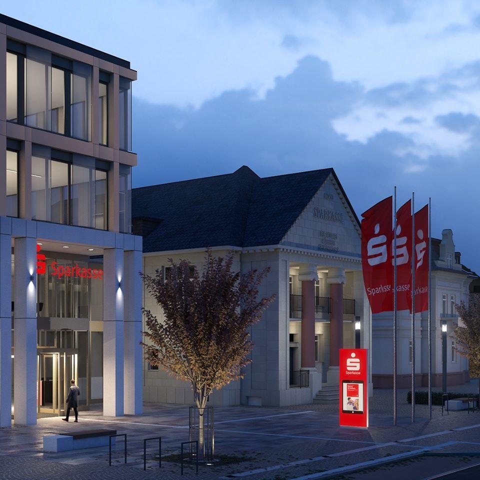 Das neue Sparkassenhaus 2021