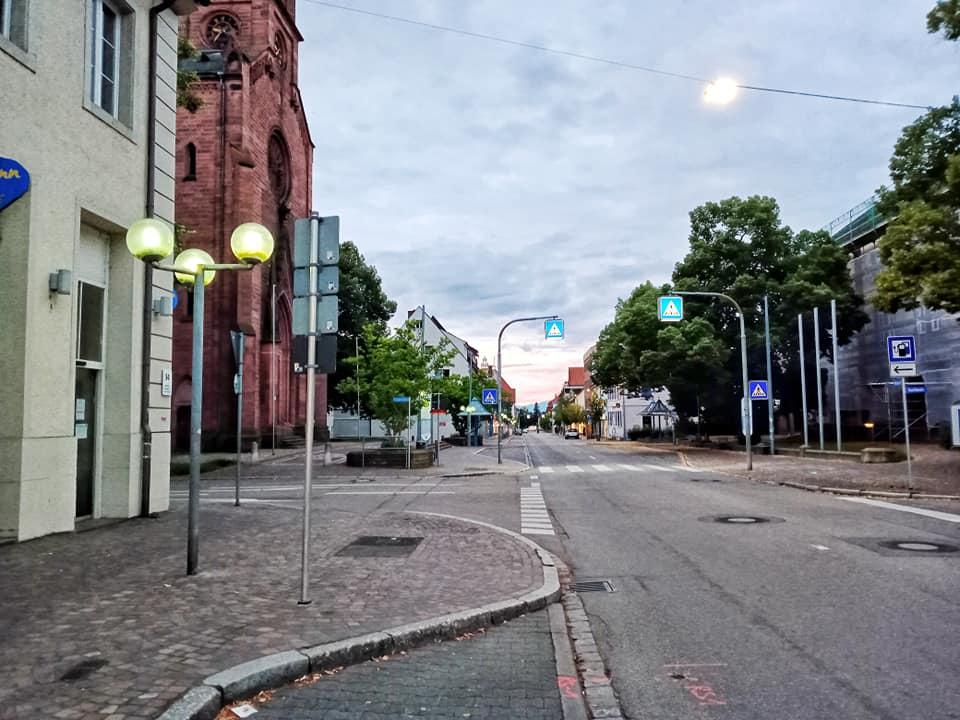 Schön - aber einsam: Müllheims Innenstadt