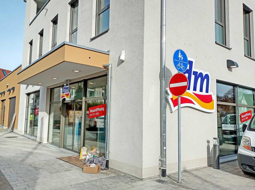 Diese Woche: der DM-Markt in Müllheim eröffnet.