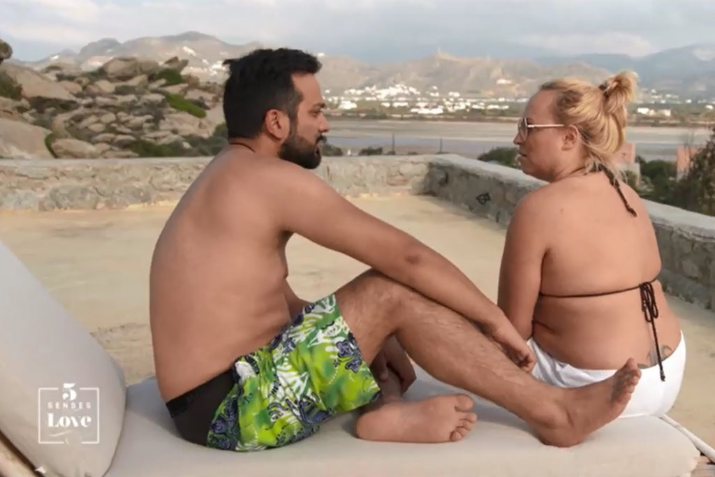 """Nicole Szagun aus Müllheim bei """"Five Senses for Love"""". [Foto: SAT1]"""